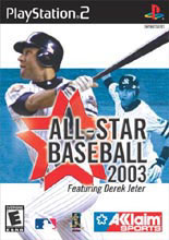 All-Star Baseball 2003 Box Shot