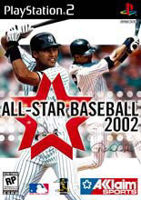 All Star Baseball 2002 Box Shot