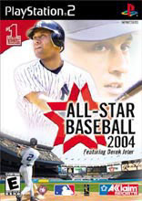 All-Star Baseball 2004 Box Shot