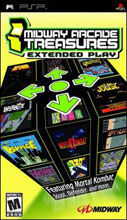 Midway Arcade Treasures: Extended Play Box Shot