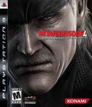 Metal Gear Solid 4: Guns of the Patriots Box Shot