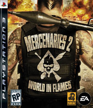Mercenaries 2: World in Flames Box Shot