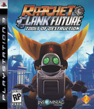 Ratchet and Clank Future: Tools of Destruction Box Shot
