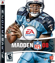 Madden NFL 08 Box Shot