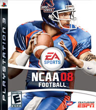 NCAA Football 08 Box Shot
