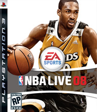 NBA Live 08 Box Shot