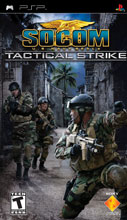 SOCOM: Tactical Strike Box Shot
