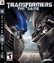 Transformers: The Game Box Shot