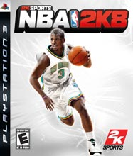 NBA 2K8 Box Shot