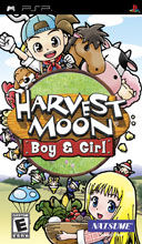 Harvest Moon: Boy & Girl Box Shot