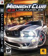 Midnight Club: Los Angeles Box Shot