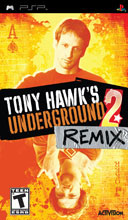 Tony Hawk's Underground 2 Remix Box Shot