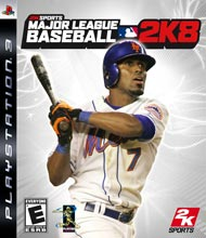 Major League Baseball 2K8 Box Shot