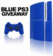 Blue PS3 Giveaway