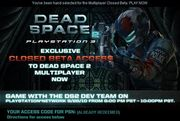 Dead Space 2 Beta