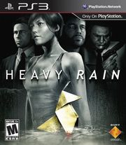 Heavy Rain NA Box Art
