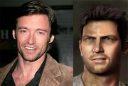 Hugh Jackman as Nathan Drake