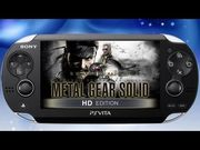 MGS HD Collection Vita