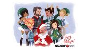 Naughty Dog Happy Holidays