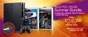 GameStop PS3 Summer Bundle
