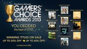 PSN Gamers' Choice Awards 2013