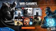 PlayStation Now WBIE Games