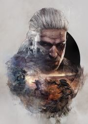 The Witcher 3 Steelbook Cover
