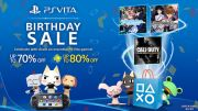 Vita Birthday Sale