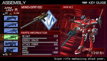 Armored Core 3 Portable - 11786