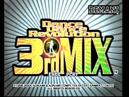 Dance Dance Revolution 3rd Mix - 09362