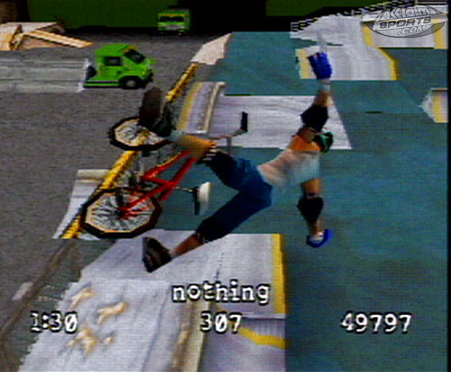 Dave Mirra Freestyle BMX - 09670