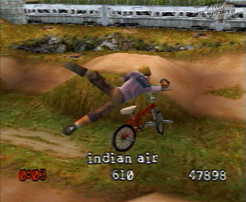 Dave Mirra Freestyle BMX - 09673