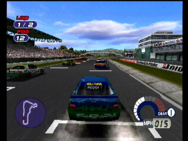 Jarrett and Labonte: Stock Car Racing - 10010