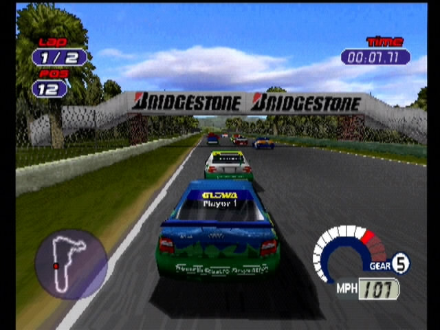 Jarrett and Labonte: Stock Car Racing - 10012