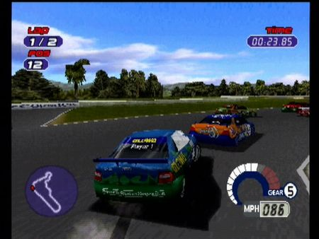 Jarrett and Labonte: Stock Car Racing - 10013