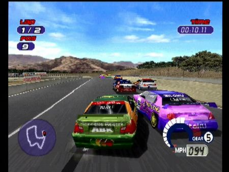 Jarrett and Labonte: Stock Car Racing - 10025