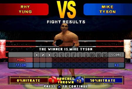 Mike Tyson Boxing - 08659