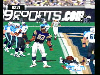NFL GameDay 2001 - 09874