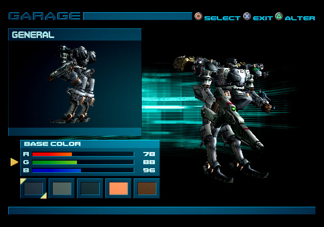 Armored Core 3: Silent Line - 05871