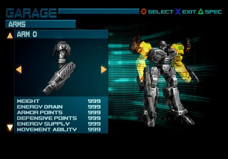 Armored Core 3: Silent Line - 05869