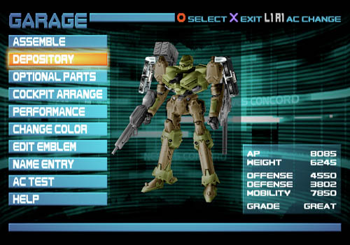Armored Core 3: Silent Line - 05880