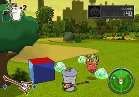 Aqua Teen Hunger Force: Zombie Ninja Pro-Am - 57521