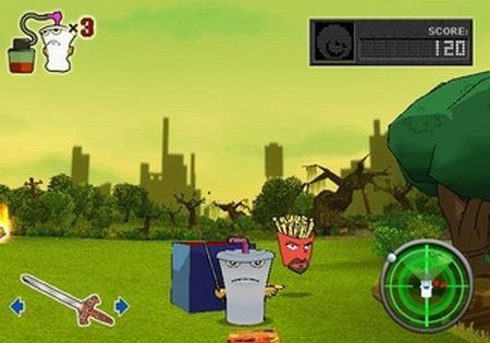 Aqua Teen Hunger Force: Zombie Ninja Pro-Am - 57523