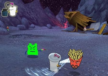 Aqua Teen Hunger Force: Zombie Ninja Pro-Am - 57525