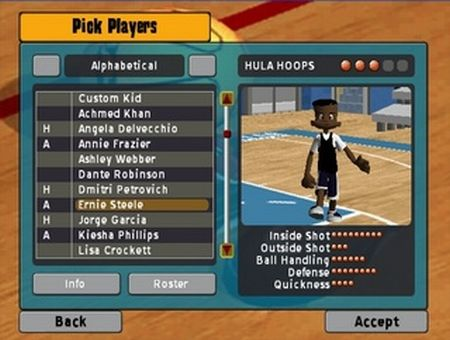 Backyard Basketball 2007 - 56185