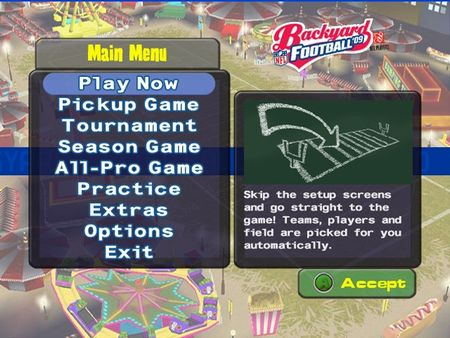 Backyard Football 09 - 59414