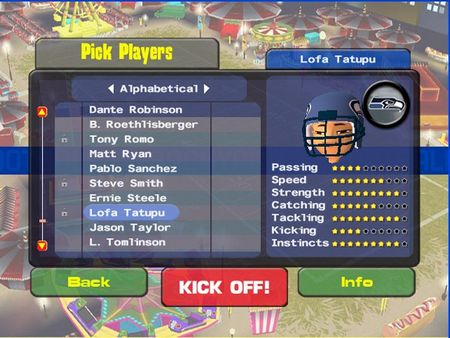 Backyard Football 09 - 59415