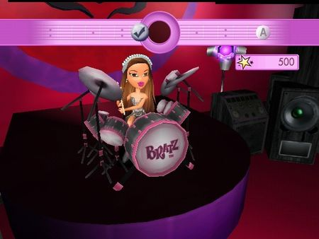 Bratz Girlz Really Rock - 59539