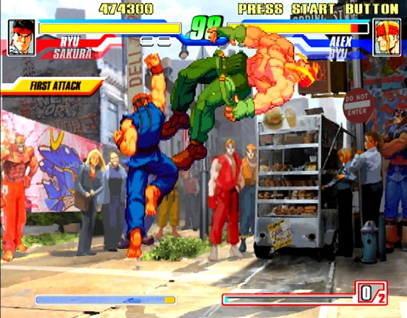 Capcom Fighting Evolution - 47623