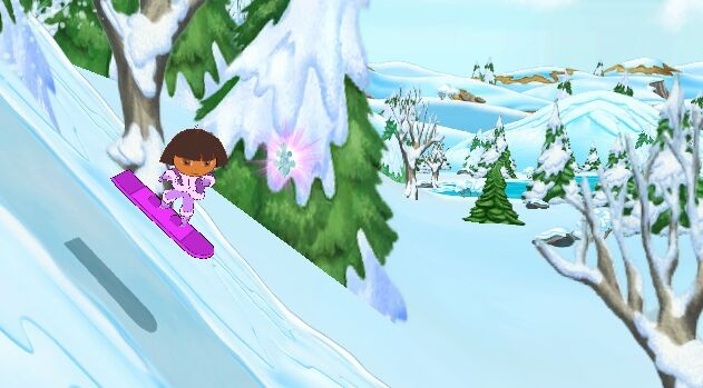 Dora the Explorer: Dora Saves the Snow Princess - 59505